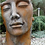 Gesicht Mann; Kopf; gross; Vidroflor; 8081R; Farbe Rosteffekt