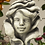 Blumenkind Rose; Betonguss; Steinguss; Zauberblume; Galarosa; Gartenfigur; Skulptur; Gartendekoration; frostfest