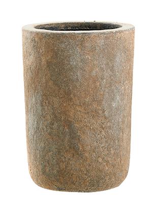 Set Pflanztöpfe (2 verschiedene Größen) 'Classico' braun