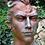 Gesicht Mann; mittel; Steinguss; Kupfereffekt; Vidroflor; Kopf; 116550K