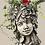 Blütentopf Sommer; Zauberblume; Steinguss; Betonguß; frostfest; Blumentopf; Pflanztopf; Galarosa; Pflanzkopf; Pflanzgefäß