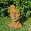 Vidroflor; Gesicht Mann; mittel; Steinguss; Edition Oxid; Rost; Haare; 116550EO