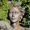 Gesicht Frau; Steinguss; Rosteffekt; mittel; Kopf; Vidroflor; Haare; 116551R