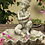 Vogeltränke Rosenjunge; frostfester Betonguss; Steinguss; Zauberblume; 24-30005; Bienentränke; Vogelbad; Gartenfigur; Deko