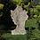 Dekoration für den Eingangsbereich; Vidroflor; Steinguss; Galarosa; Gesicht Mann; mittel; Farbe Antik; moderne Gartenfigur