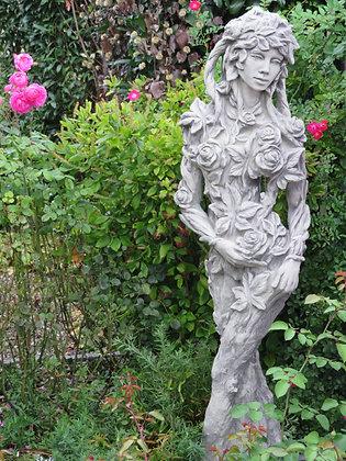 Baumhüter; Baumfigur; Königin der Natur Ada; Vidroflor; Galarosa; Rosenfrau; 118600; Steinguss; Skulptur; Gartenfigur; Deko