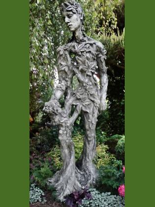 König der Natur; Artur; Baumhüter; Vidroflor; 118601; Steinguss; Gartenfigur; Antik; Baumfigur; Wurzelmann; Galarosa