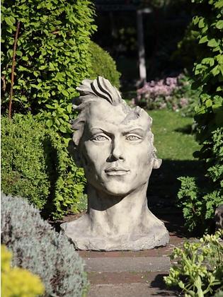 Gesicht Mann mittel - Farbe Antik