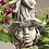 Blumenkind Glockenrebe; Zauberblume; Galarosa; Betonguss; Steinguss; Steinfigur; Gartenfigur; Skulptur; Gartendekoration