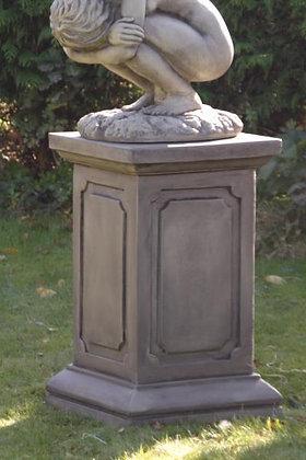 Säule für Engel Barbiel; Engel Rachel groß; Steinguss; Vidroflor; 114925; Antik; Podest; eckig