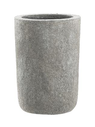Set Pflanztöpfe (2 verschiedene Größen) 'Classico' grau