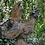 Vidroflor; 121005R; Birkhuhn; Wesen der Lüfte; Steinguss; Rosteffekt; Gartenskulptur; Ausgefallenes für den Garten; Figur