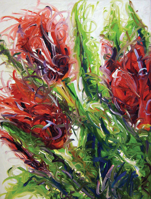 Roses en folie