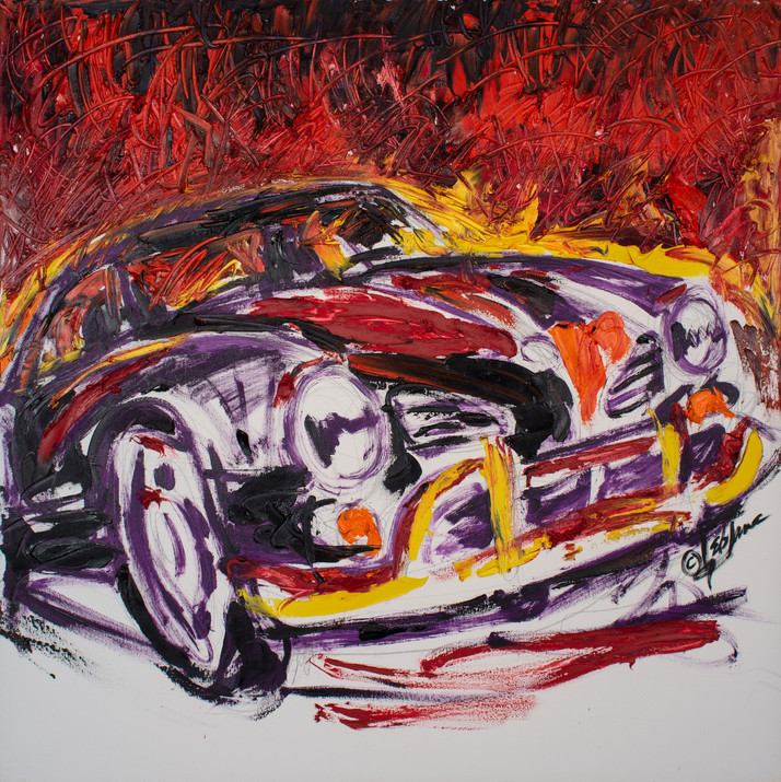 Karmann Ghia Rouge
