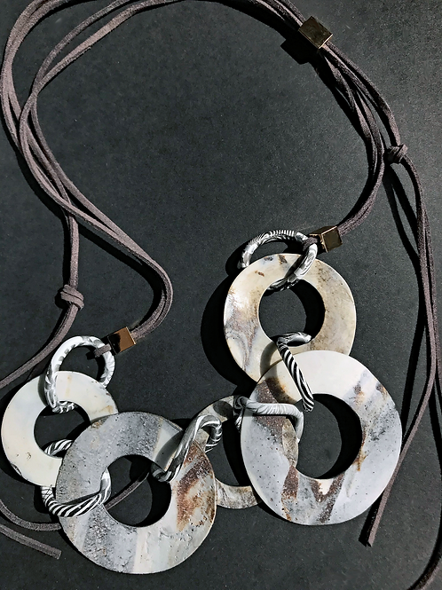 Earth Circles Necklace