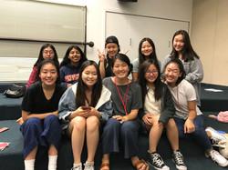 2019 Summer Retreat girls