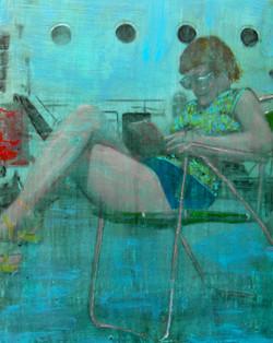Mixed-Media figure painting