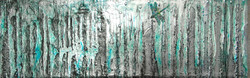 dragonfly painting trees landscape