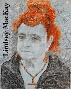 Mixed-Media portrait painting
