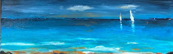 sailing,seascape, water, sun
