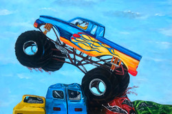 Monster Truck Painting