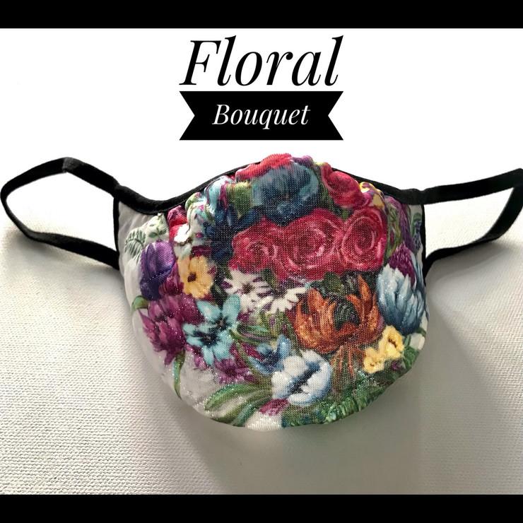 Floral Bouquet, mask