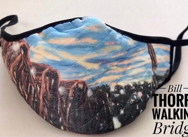 Bill Thorpe Walking Bridge Mask