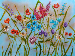 floral paintings on canvas