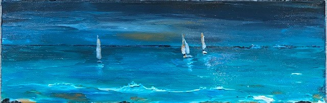 sailing,seascape, water, sun