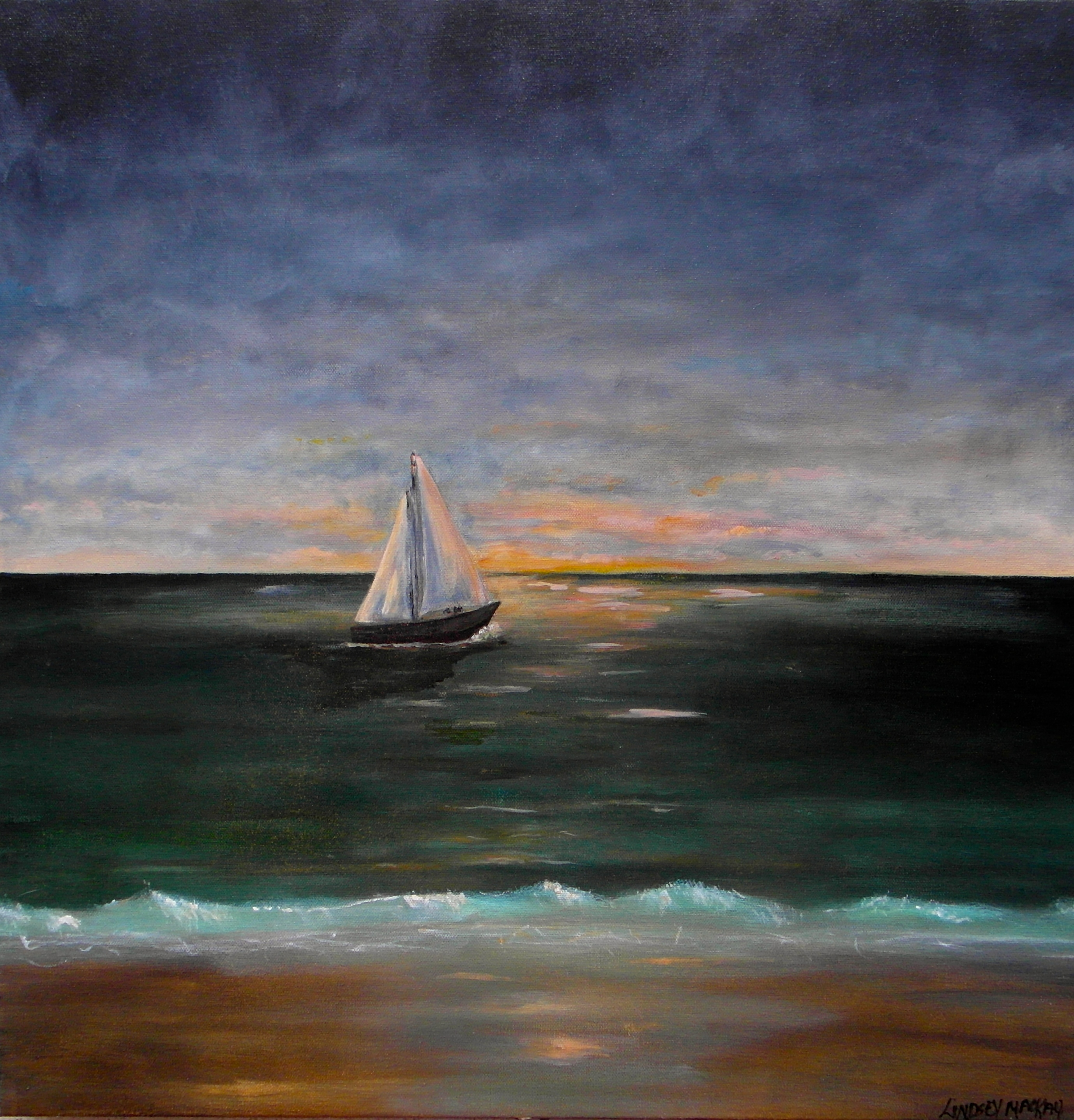 seascape canvas paintings