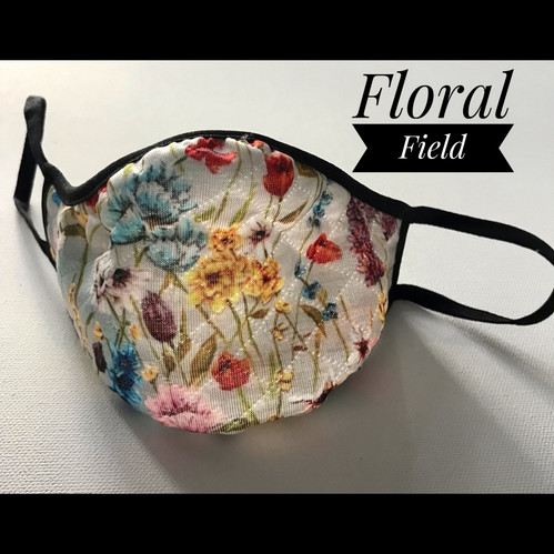 Floral Field, mask