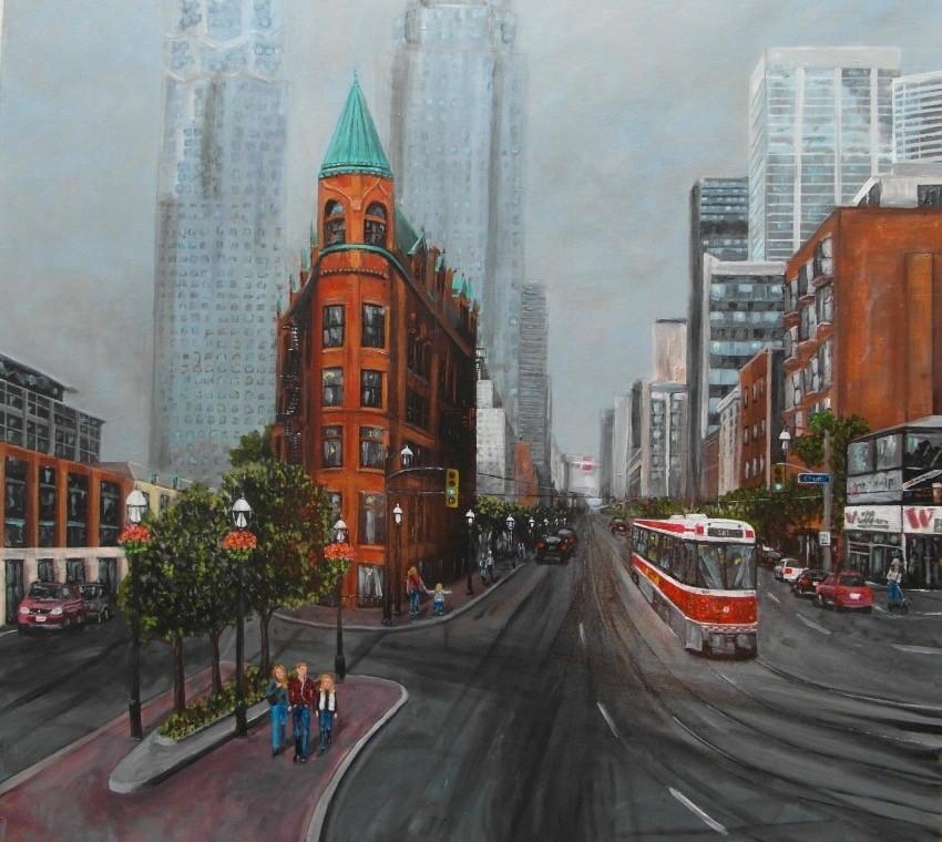 Toronto, Cityscape, Streetcar