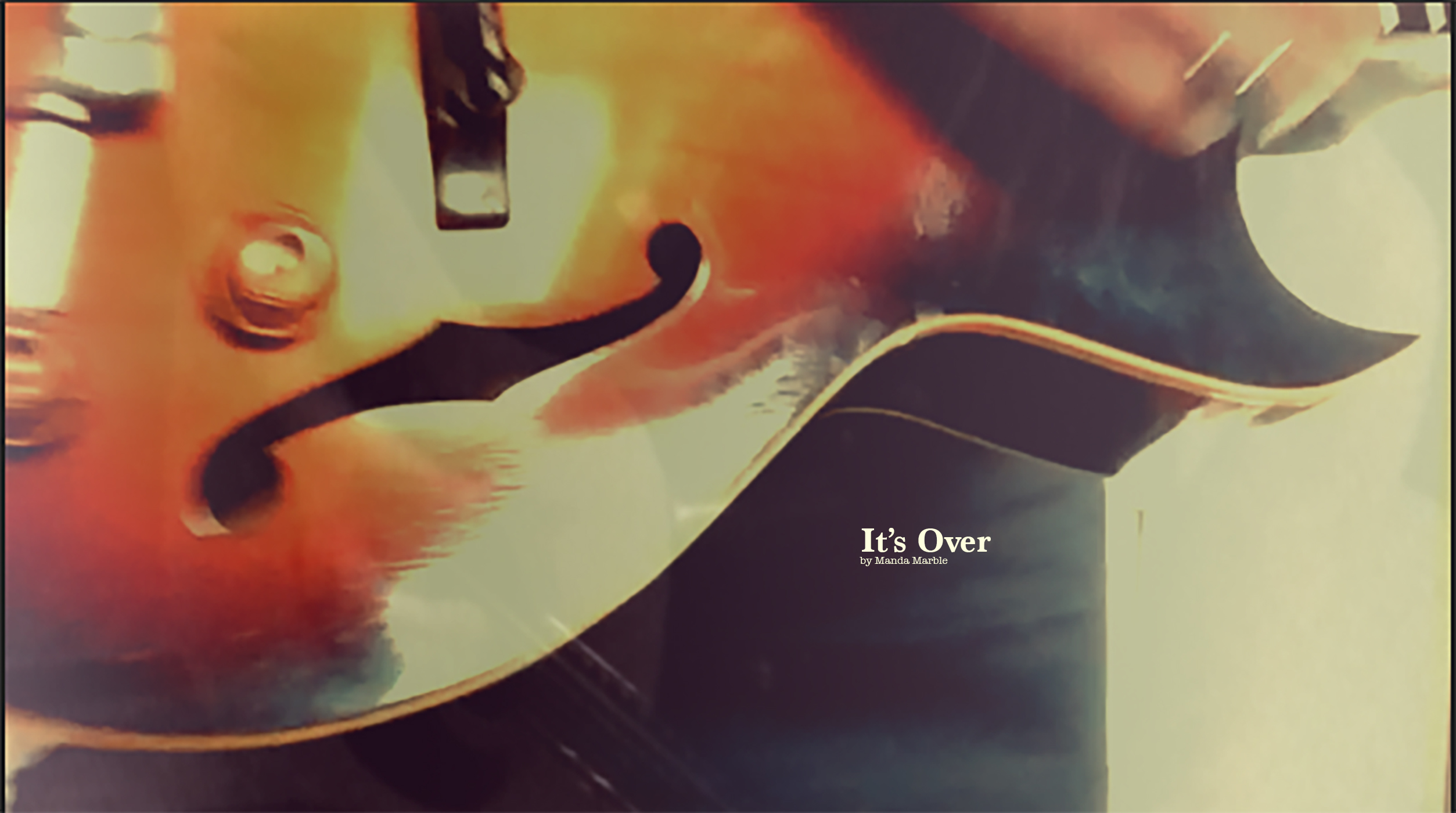 ITS OVER COVER
