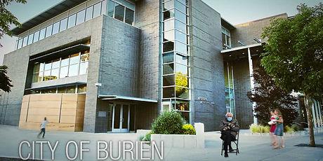 B-Town Blog Burien City Hall Bernie Sanders