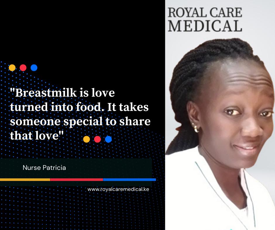 Quote on breastfeeding by Nurse Patricia