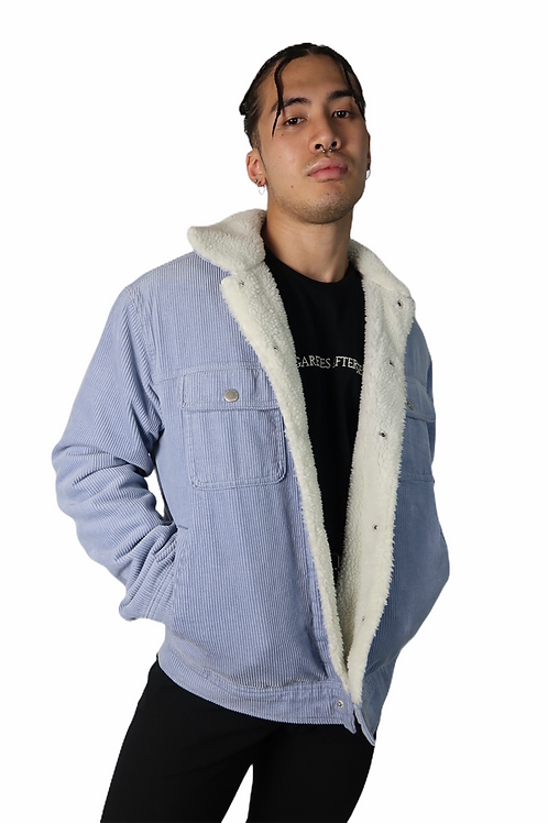 Medium BDG Corduroy/ fur jacket