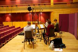 Magnard Ensemble recording Dodgson at the Menuhin Hall, 2017