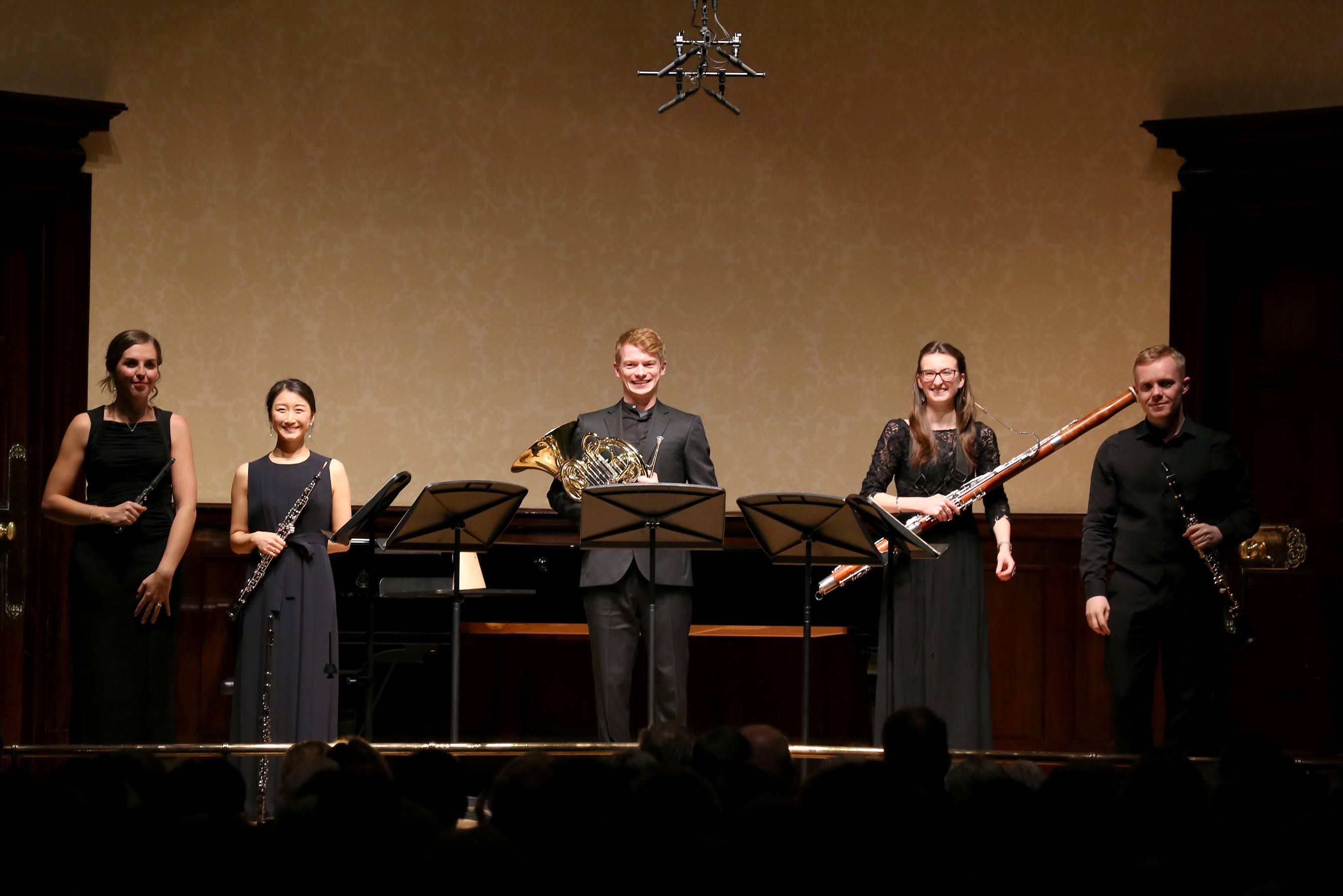 Magnard Ensemble at Wigmore Hall (Photo: Robert Piwko)