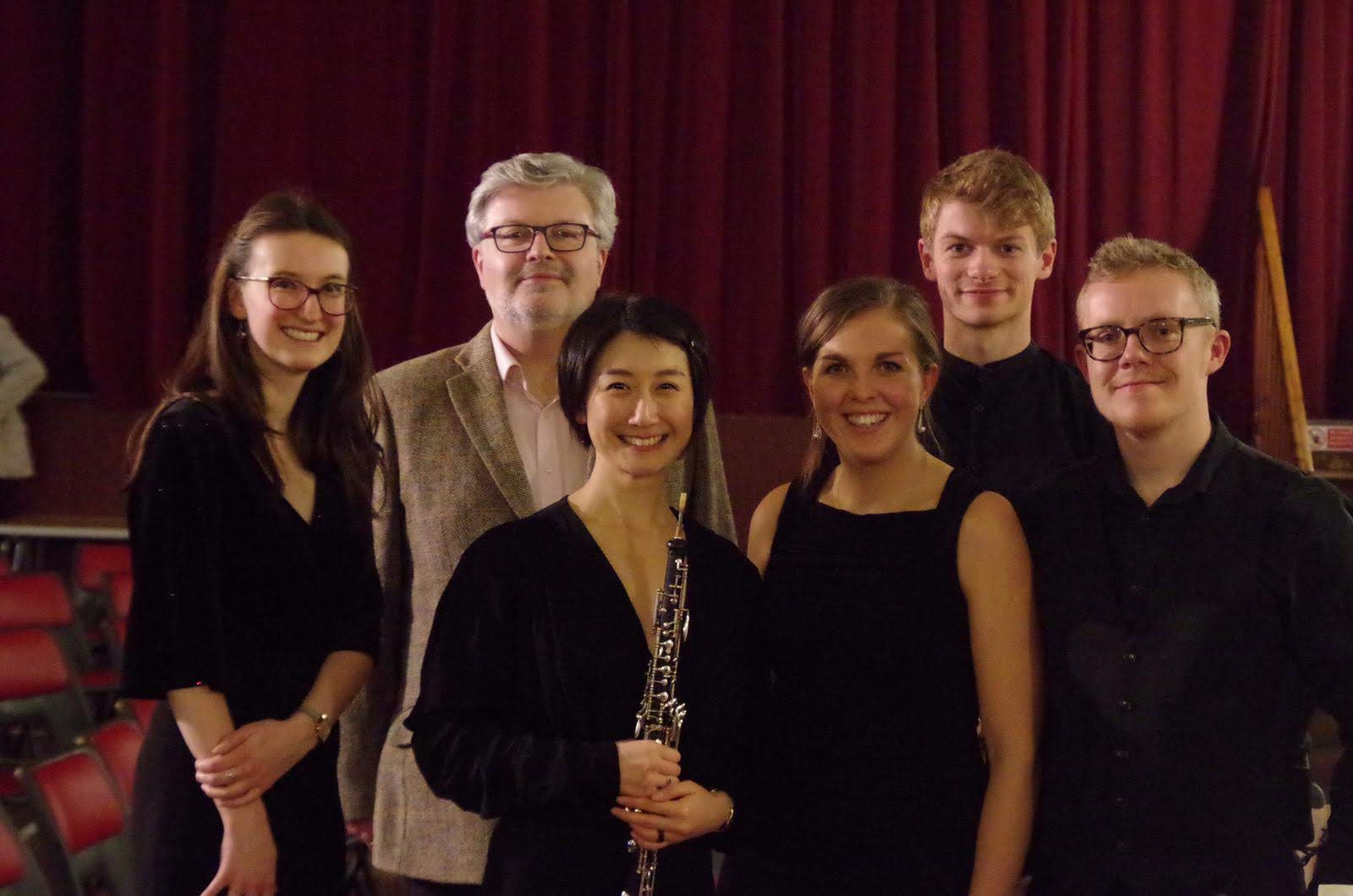 Magnard Ensemble with Sir James Macmillan at West Kilbride, Scotland