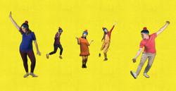 Odd Dog Dancing Queens!