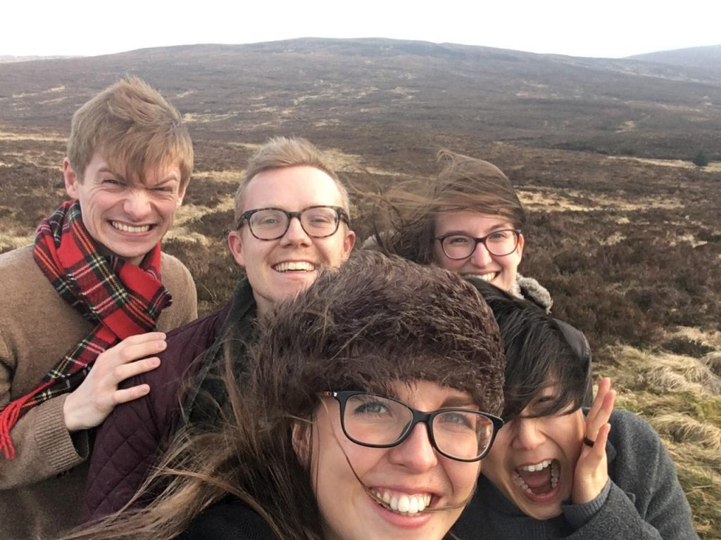 A blustery trip across Scotland during our Tunnell Trust tour, February 2019