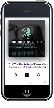 Phone w: Podcast for The Business Method