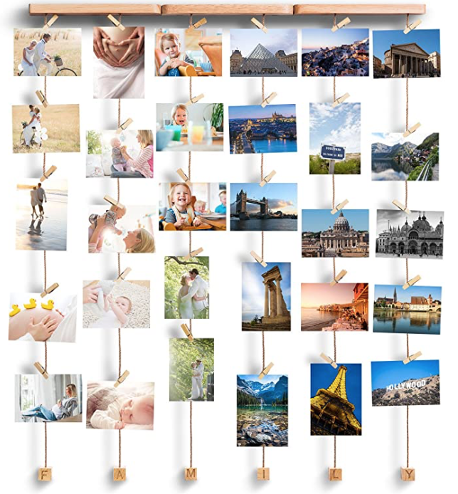 Photo hanger ideas