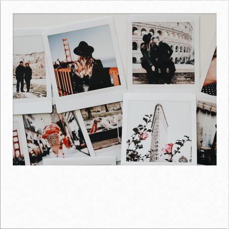 7 Polaroids Display Ideas
