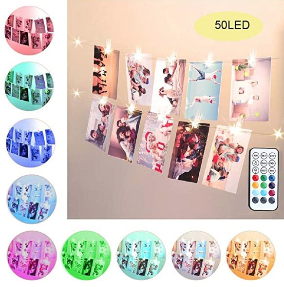 50 LED Colourful