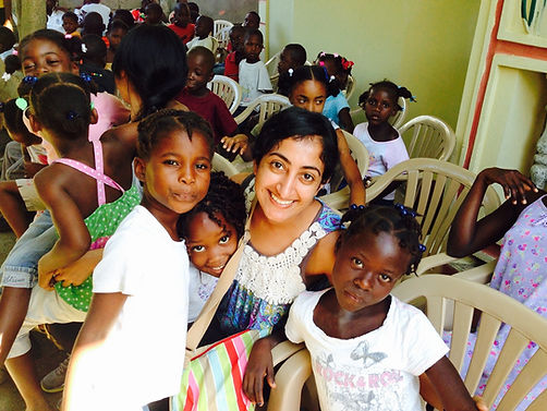 Dr. Singh in Haiti, Chiropractic mission trip.