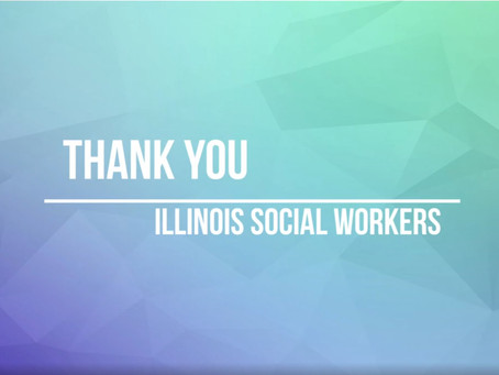 Legislative Thank You to Illinois Social Workers 2020