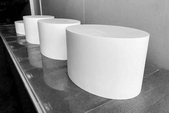 Oval Plinths