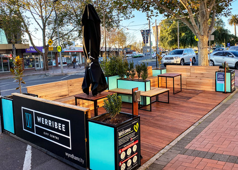 Alfresco Dining Parklet