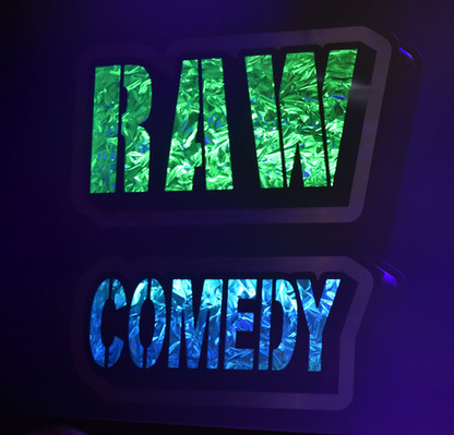 """Lightbox for the """"Raw Comedy"""" Televised Stage"""